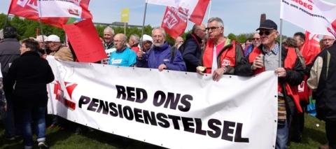 Ouderenbonden doen niet mee met pensioenactie
